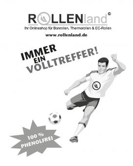 ROLLENLAND Fussballmotiv