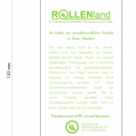 Die ROLLENLAND.de Alternative