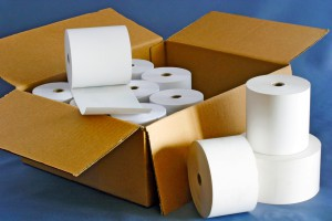 Compositon of Paper Rolls for Cash Register in one Box