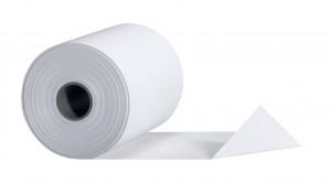 Papierrolle weiß